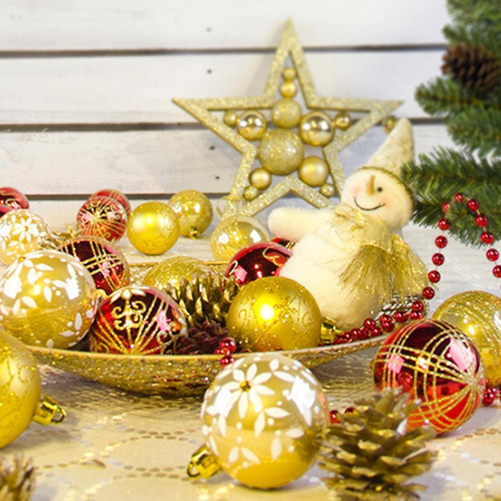 Aliexpress.com : Buy 24pcs/set Christmas Balls Big Christmas Tree Decoration Balls Xmas Home Hangings Decorations Navidad Size Dia 6cm from Reliable Ball ... & Aliexpress.com : Buy 24pcs/set Christmas Balls Big Christmas Tree ...