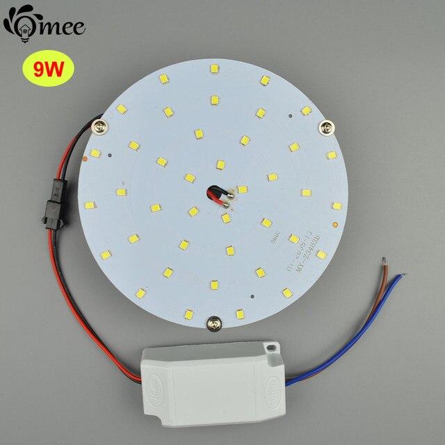 Magnetic Ceiling Circle Light Lamp Pcb Board 9w 110v 220v Kit Driver Round Kitchen Bedroom 12v 24v Solar Energy Led Panel