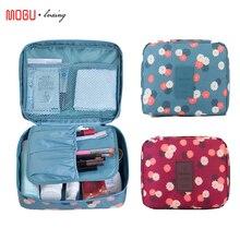 Bolsa de almacenamiento de gran capacidad de maquillaje de viaje impermeable para hombres y mujeres bolsa de cosméticos de lavado portátil de viaje accesorios de viaje de moda