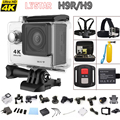 "Original H9R / H9 Action Camera 4K WiFi 1080P 2.0"" LCD12MP Diving 30M car DVR Helmet Video Camcorder With Remote Control"