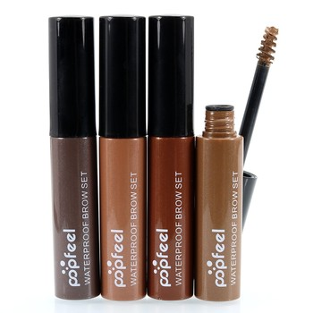 3D Fiber Eyebrow Gel Mascara Cream Eye Brow Makeup Set Kit Waterproof Long Lasting Eyebrow Enhancer Cosmetics Eye Beauty EC14#
