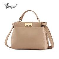 YBYT Brand 2017 New High Quality Designer Women Handbags Socialite Leisure Ladies Shopping Bag Shoulder Messenger