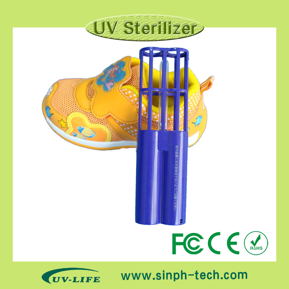 Hot!!! UV light shoe/shoes deodorizer UV sterilizer for baby bottle/handbag/teapot/drawer/cabinet/refrigerator/wardrobe