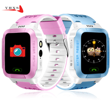 Touch Screen Smart Real-time Tracker Location SOS Call Remote Monitor Camera Flashlight Watch Wristwatch for Kids Child Pk Q90