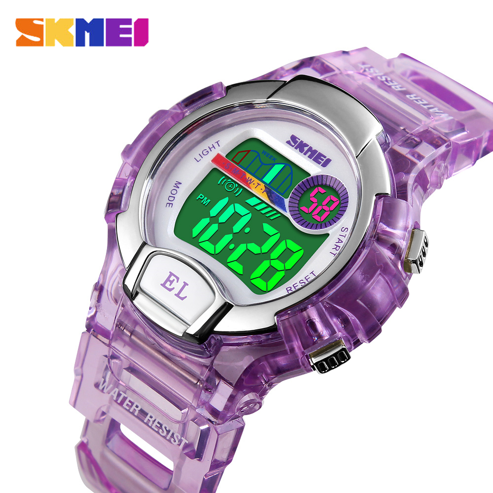 SKMEI Fashion Women Digital Watch Outdoor Sport Watches Female Clock Top Stopwatch Chrono Ladies WristWatches Reloj Mujer 1450