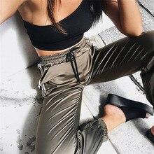 Fashion Streetwear Long Pants Women Casual Black Side Striped Pants Sweatpants Trousers Joggers Plus Size M-XL button and striped side sweatpants