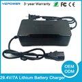 29.4 V 2A/3A/4A/5A/7A tipo De Lítio elétrica e uso nimh battery pack 7X3.6 v 7X3.7 V Li-na bateria Li-po carregador