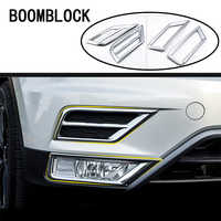 Car-styling For VW Tiguan 2017 2018 For Volkswagen VW Tiguan 2 MK2 2016 Front Grill Fog Lights Lamps Stickers Covers Accessories