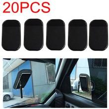 20pcs lot Free Shipping font b Car b font Use Black Anti Slip Mat Silicon Gel