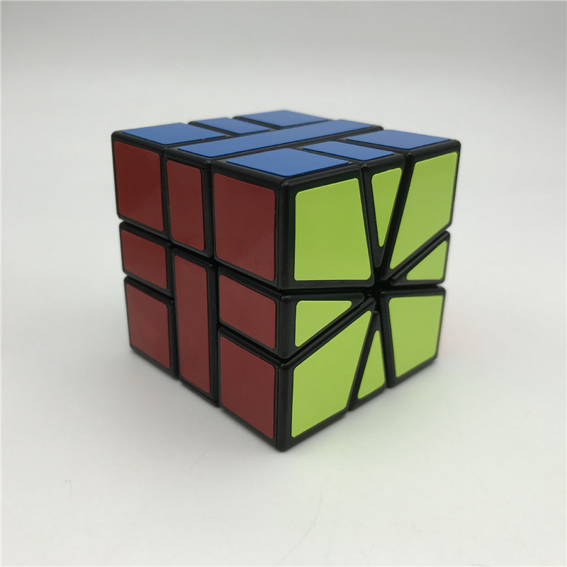 SHENGSHOU Brand SQ1 Skew Magic Cube Children Competition Toys Profession Sticker Speed Rubiks Cube MF907