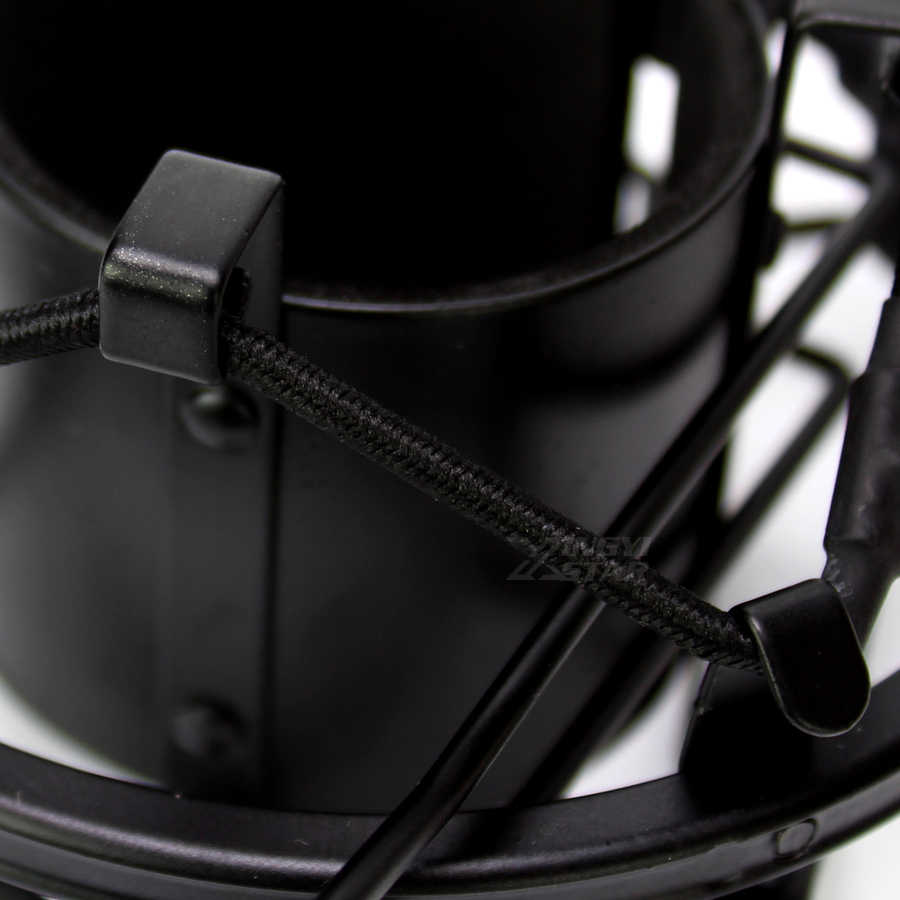 מחזיק אוניברסלי מתכת פרו C01U הקבל מיקרופון הלם הר עמדת מיקרופון לאולפן שידור מסנן סוגר עכביש השעיה