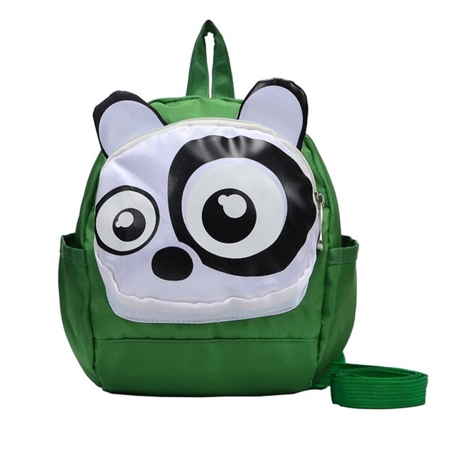 Toddler Backpacks Cartoon Animals Panda Cat Kindergarten School Bags Kids Anti-lost Rucksack