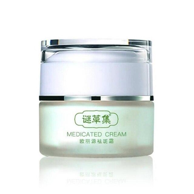 25g fuertes efectos poderoso blanqueamiento crema acné puntos pigmento melanina manchas eliminar pecas El Melasma cara cuidado crema