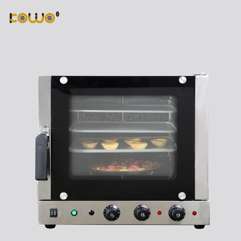 купить commercial kitchen bakery machine electric pizza bread convection baking oven 4 layers 60L capacity по цене 32978.79 рублей