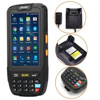 КПК Android 7,0 ручной pos терминал Поддержка gps GPRS Wi Fi Bluetooth 4 г мобильный 1D 2D QR считывания штрих кода для планшетный ПК Камера