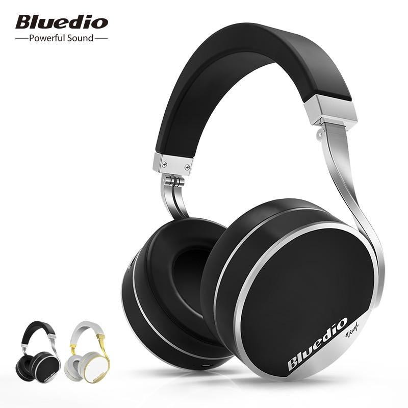 Bluedio Vinyl Plus  экстраодинарные наушники беспроводные Bluetooth  наушники с микрофоном  купить на AliExpress