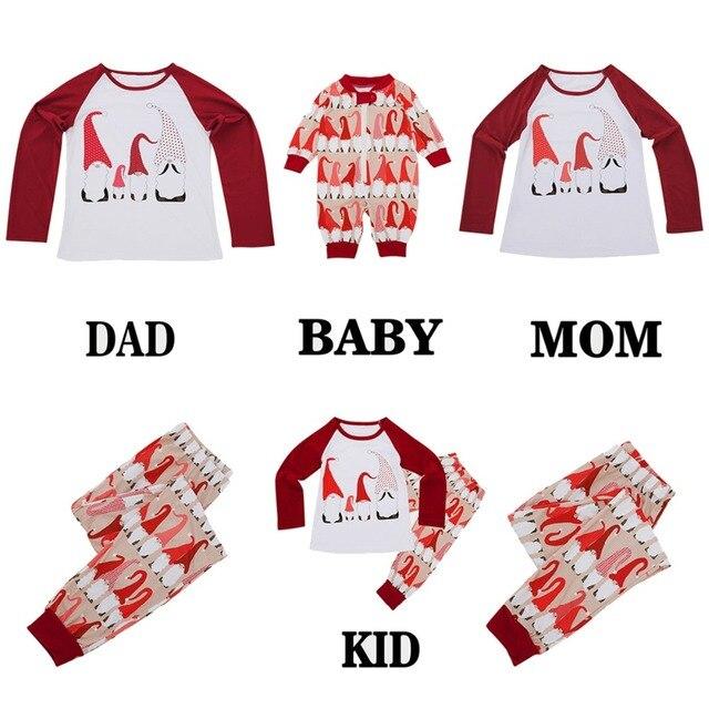 Christmas Snowman Pajamas Set Adult Kids Girls Boy Sleepwear Nightwear Xmas  Dad Mom Adult Kid Clothes Matching Family Outfit a6c4fb6ef