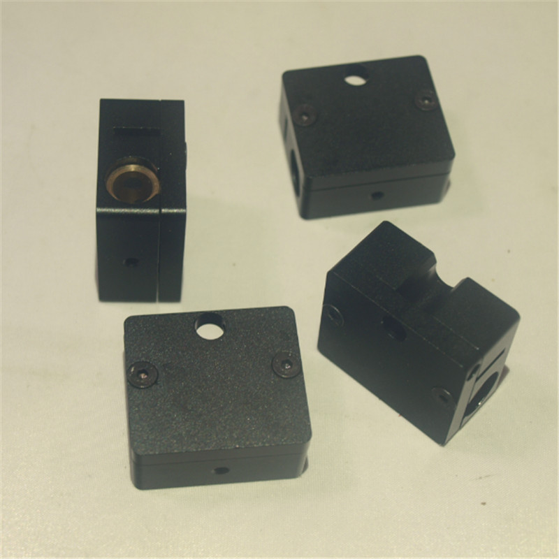 Ultimaker 2 3 D printer upgrade UM2 Ultimaker 2+ plus DIY aluminum metal sliding block kit+copper bush *4 +spri цена