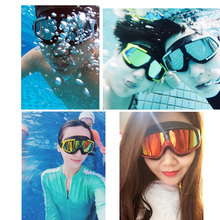 Comfortable Silicone Swim Glasses