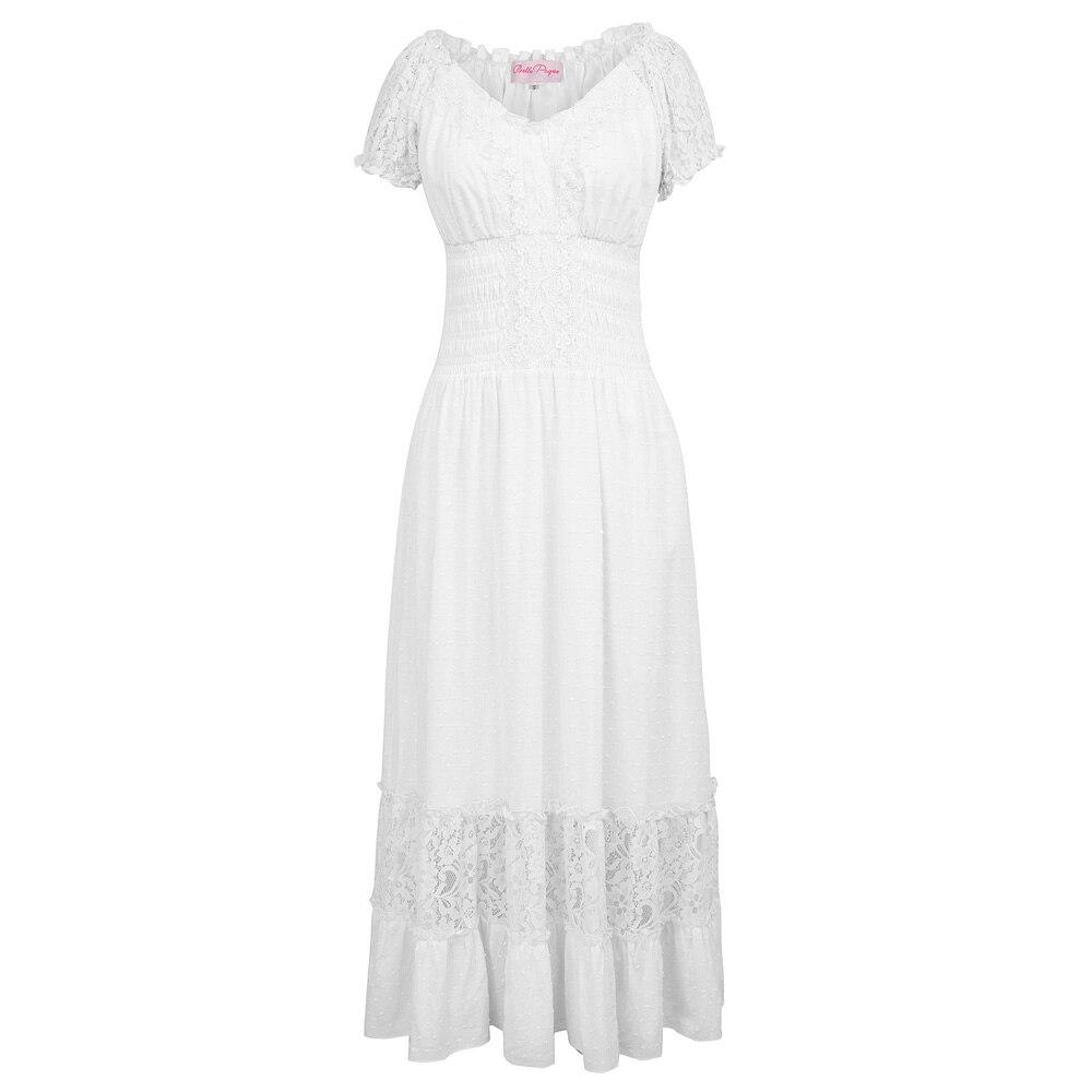 Belle Poque Long Maxi font b Dress b font Robe font b Vintage b font 50s