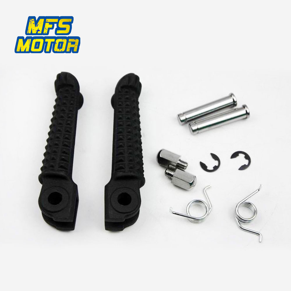 Front Rear Passenger Foot Pegs For Yamaha YZF R1 R6 R6s Bracket Footrests Footpegs Foot Rests  YZF-R1 YZF-R6