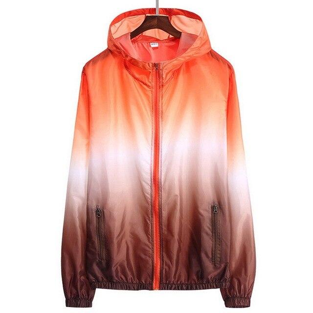 Sun Protective Ultra Thin Summer Windbreaker Jacket 1