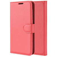 pu leather Mobile Phone Case Flip PU Leather All-round Dustproof Phone Case Card Storage With Bracket for Samsung A20e (5)