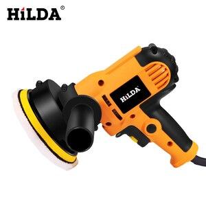 Image 2 - HILDA 700W voiture polisseuse Machine de polissage automatique vitesse réglable ponçage épilation outils voiture accessoires Powewr outils