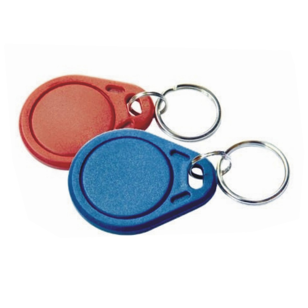 Image 3 - 10pcs/lot RFID hotel key fobs 125KHz rewritable keychain  and rewritable proximity ABS tags for RFID copier-in IC/ID Card from Security & Protection
