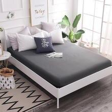 Sábanas 100% de algodón estampadas sábana ajustada con banda elástica para colchón Queen King tamaño 150x200/180x20 0/200x220 Cm