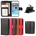 Fashion Luxury 2 in 1 Multifuction Magnetic Detachable PU Leather Wallet Style Flip Phone Case Cover Bag for iPhone 5 5S SE