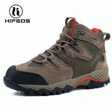 HIFEOS zapatillas para hombres botas tácticas mountaineer camping zapatos de invierno impermeable y transpirable al aire libre escalada deportiva M02A