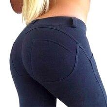 Новый женский Высокоэластичный, для фитнеса Спортивная Леггинсы для йоги брюки тонкие колготки для бега спортивные штаны лосины Леггинсы для йоги