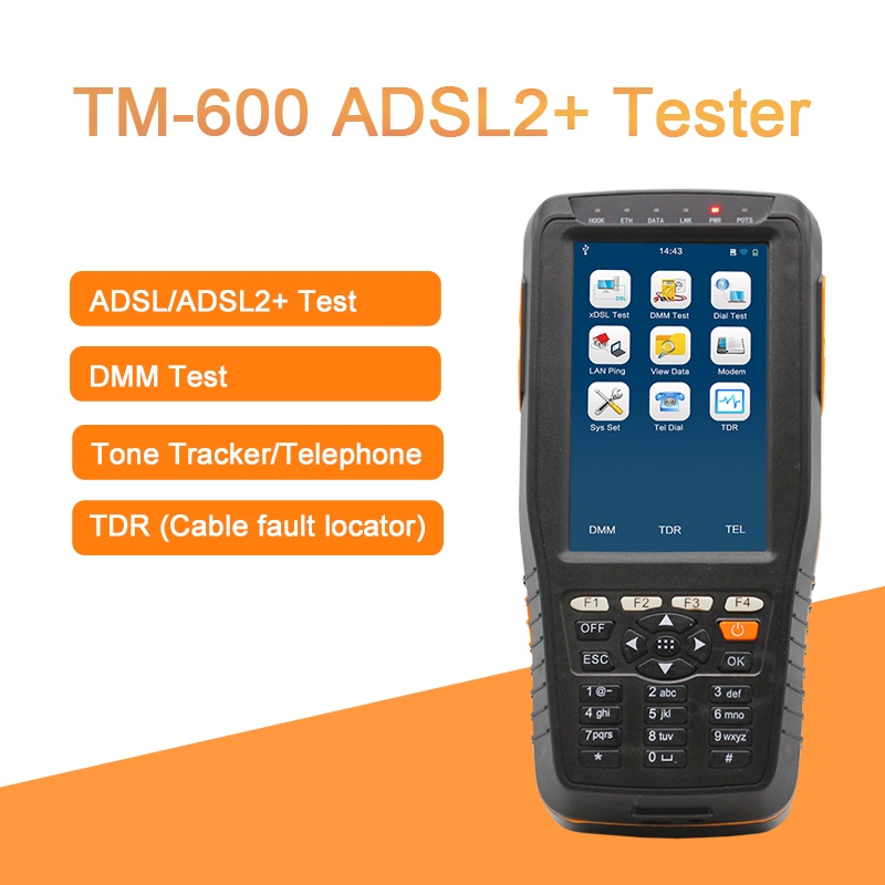 All In One Multi-functional ADSL2 Tester ADSL Installation Maintenance With Tone Tracker And TDR Cable Fault Locator