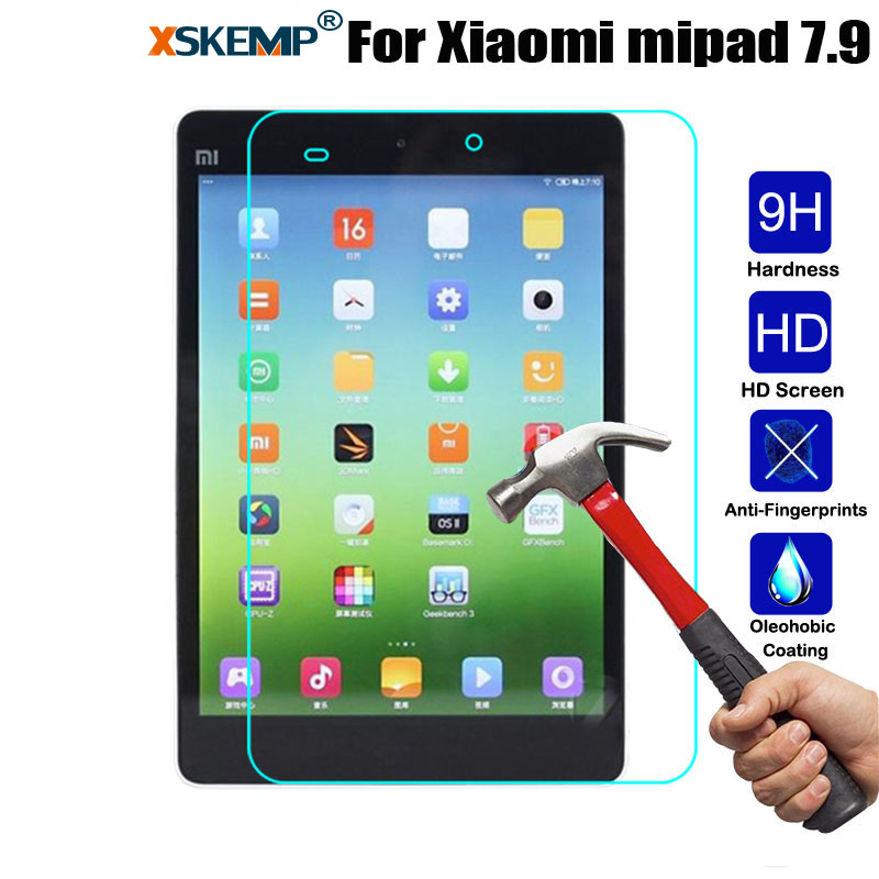 XSKEMP 9H 0.3mm Explosion-Proof Toughened Tempered Glass For Xiaomi Mipad Mi Pad 7.9
