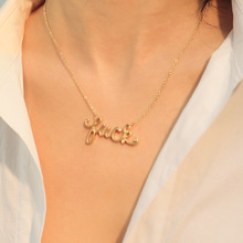 2019 Tin Women Chains Necklaces Choker Collares Kolye Moana New Angel Necklace Speed Sell Pass Hot Style Letters Luck, Jewelry