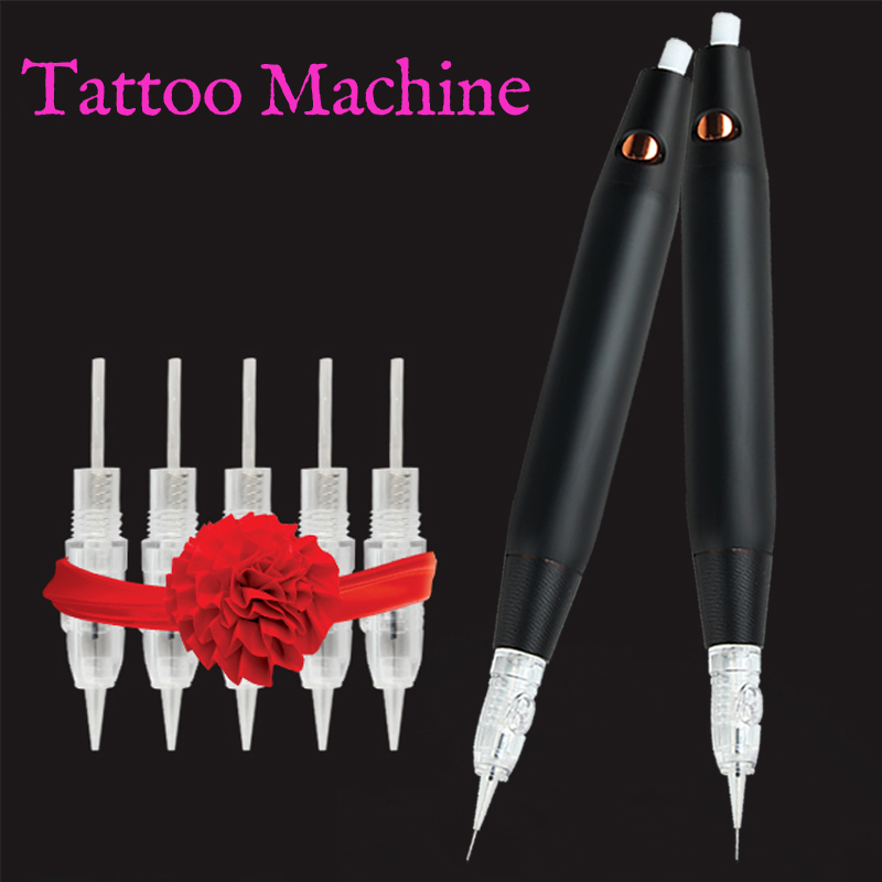 V7 Professional Permanent Makeup Machine Pen For Eyebrow Liner Lips Tattoo Gun Body Art Tool