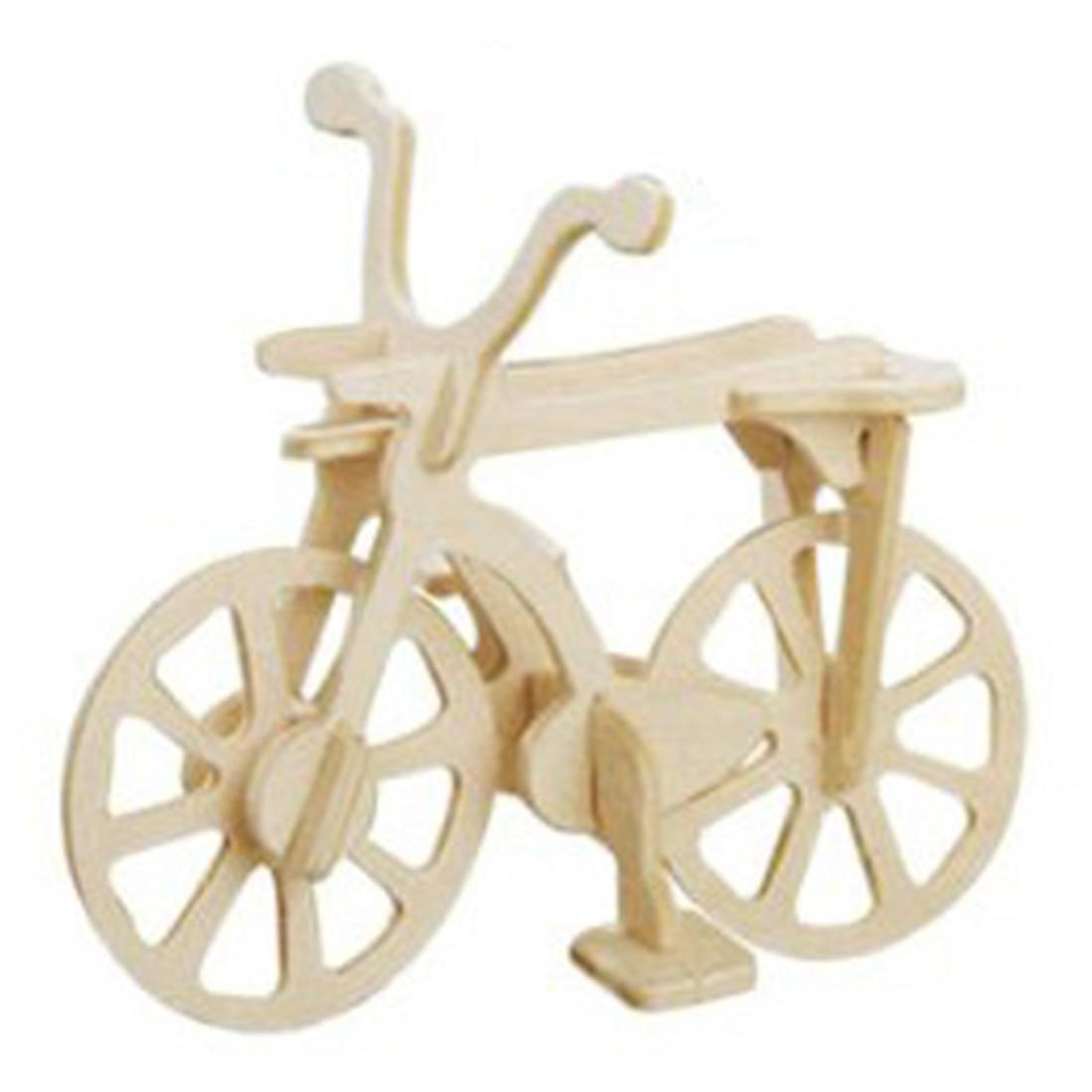 Новый практический Улучшенный DIY собрать Велосипеды модель 3D деревянный комплект строительство