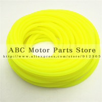 20M Green Yellow fuel pipe,oil hose universal for motorcycle, motorcross scooter and dirt bike, ATV fuel tube 8x5mm fuel hose