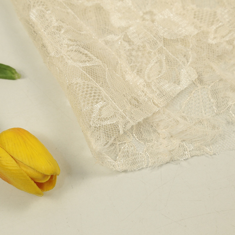 130cm embroidery lace fashion women's dress stage clothing fabric wedding lace fabric handmade material evening dress clothes