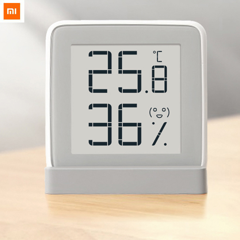 Xiaomi MiaoMiaoCe E-Link Schermo INCHIOSTRO Digitale Misuratore di Umidità di Alta Precisione Termometro di Umidità di Temperatura Sensore Schermo LCD