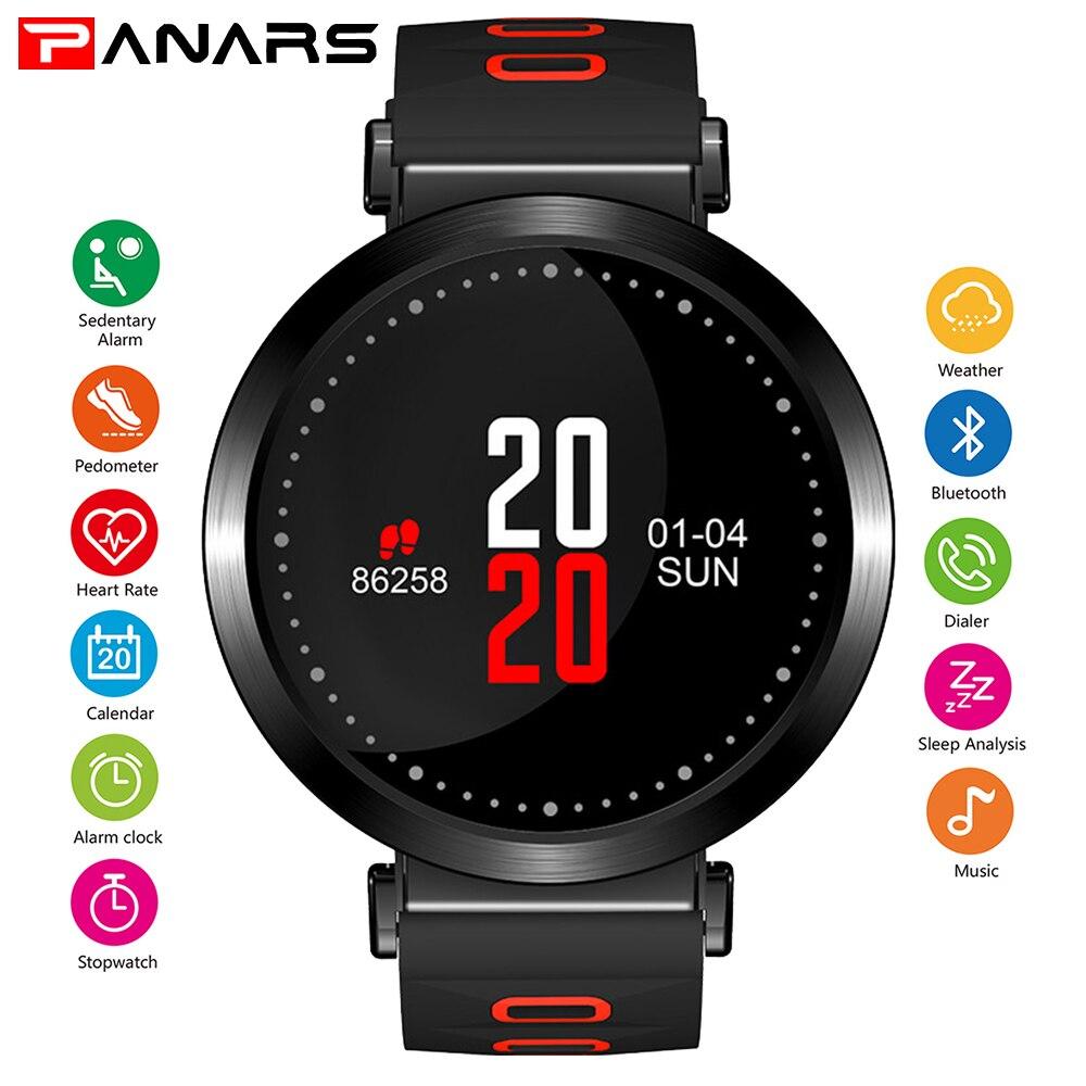 PANARS Men Bluetooth Smart Watch Smartwatch Smart Men GPS Watch Heart Rate Monitor Sports Player Music Firstbeat 5ATM