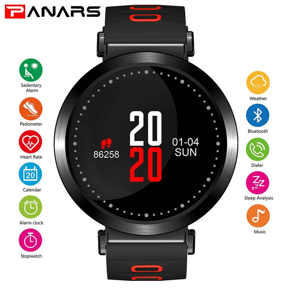 PANARS hommes Bluetooth montre intelligente Smartwatch hommes intelligents GPS montre moniteur de fréquence cardiaque lecteur de sport musique Firstbeat 5ATM