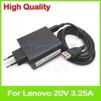 20V 3.25A 5.2V 2A USB AC Power Adapter for Lenovo Yoga 700 11ISK 700 14ISK tablet charger 5A10G68677 ADL65WLE 5A10G68678 EU Plug