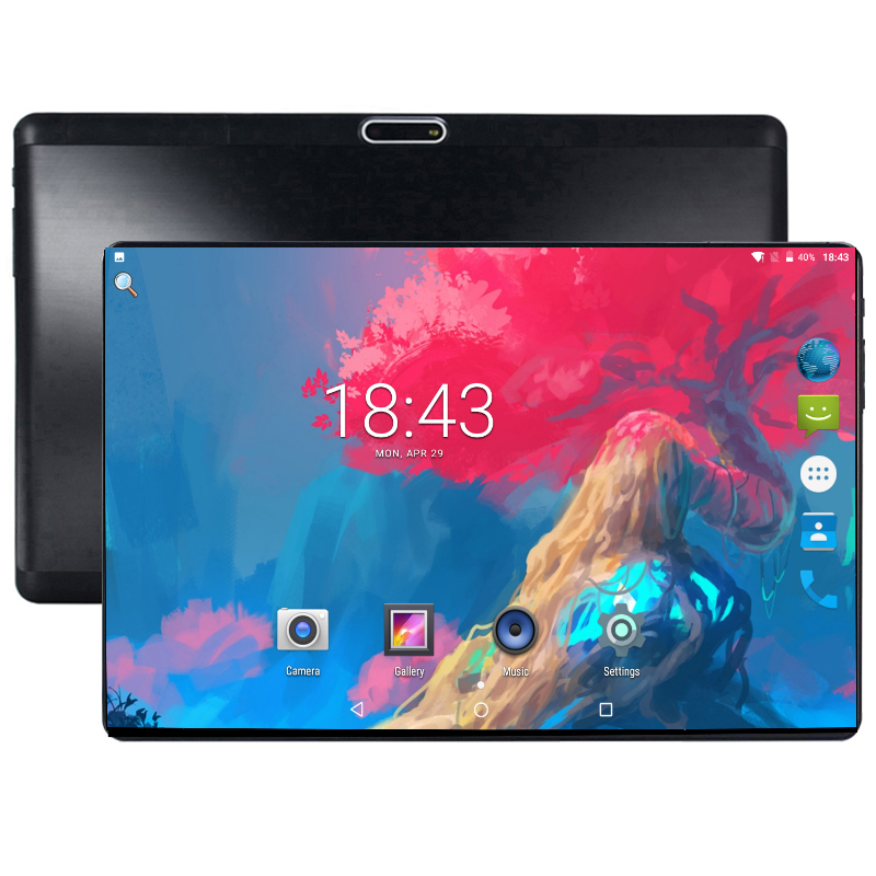 New 10 Inch 1280*800 2.5D Screen 4G Phone Call Tablet PC MTK8752 Octa Core Android 8.0 4GB RAM 64GB ROM Tablet 10 With Gift
