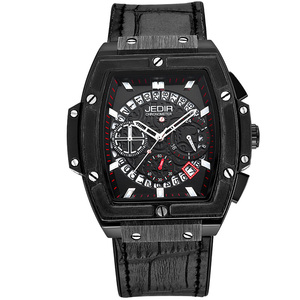 Image 4 - Relogio Masculino męskie zegarki Top luksusowa marka biznes zegarek hublot JEDIR Casual wodoodporny męski zegarek chronograf zegar