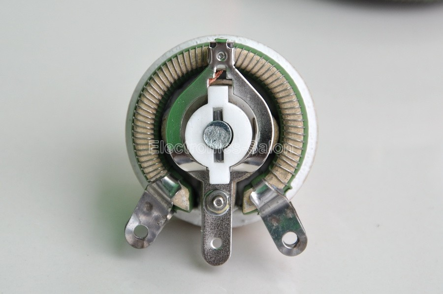 Image 3 - 25W 1K OHM High Power Wirewound Potentiometer, Rheostat, Variable Resistor, 25 Watts.variable resistorwirewound potentiometerpower potentiometer -
