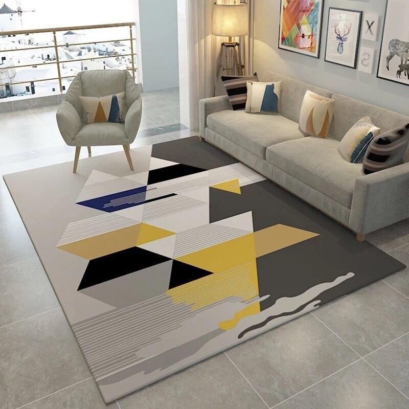Американские скандинавские ковры геометрической формы для гостиной, дома, спальни, ковры для детской комнаты/Кабинета/столовой, коврик для игр