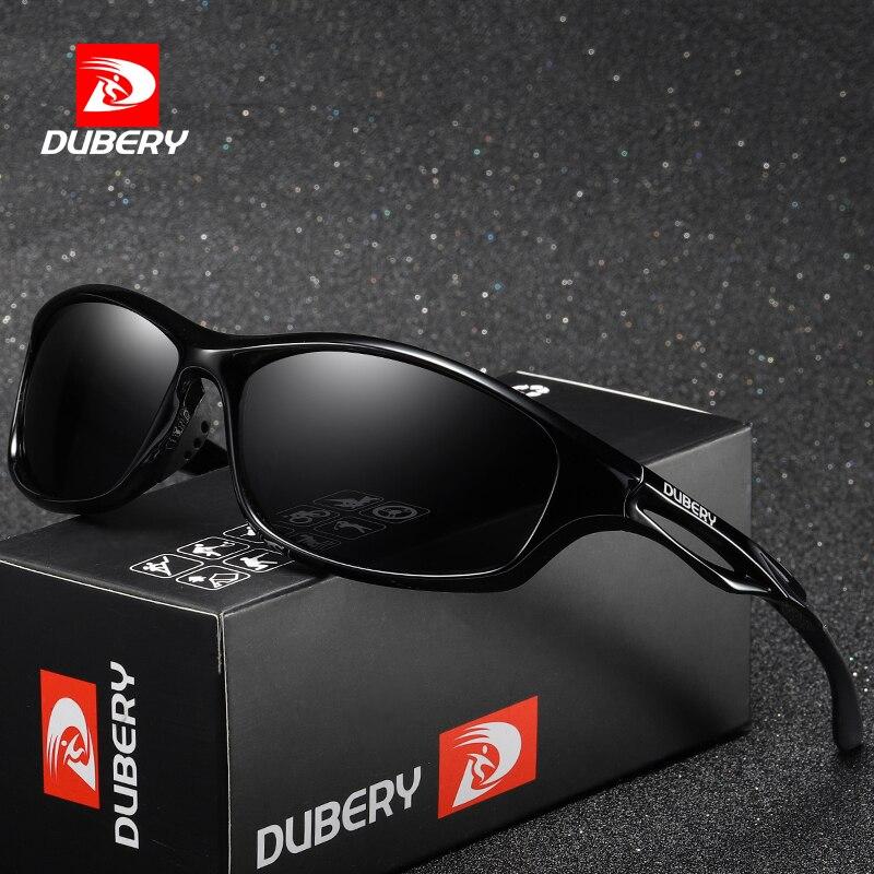 DUBERY Marca Diseño polarizadas gafas de sol hombres Dring tonos hombre gafas de sol para hombres verano Espejo, gafas, UV400