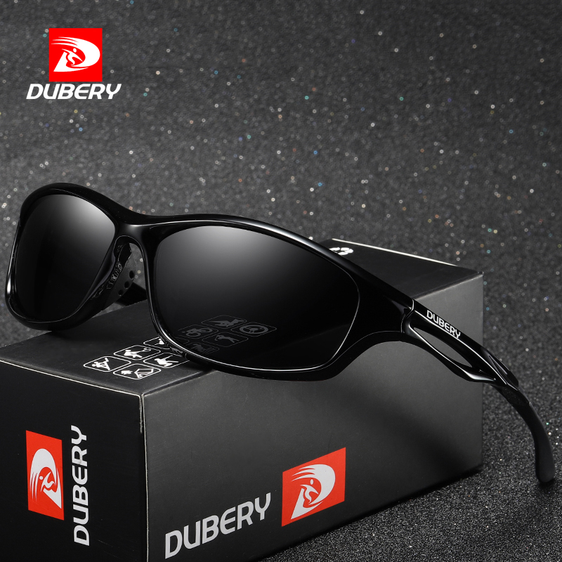 DUBERY diseño de marca hombres gafas polarizadas gafas de sol de conducción de tonos hombre gafas de sol para hombres verano espejo gafas de UV400